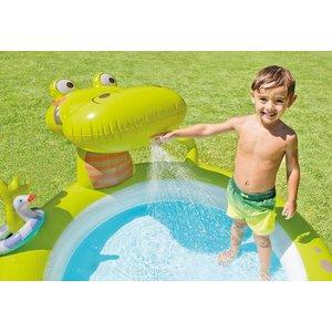 Intex Opblaasbaar zwembad in krokodilvorm