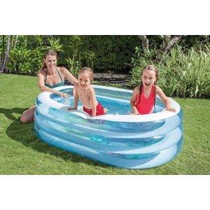 Intex Opblaaszwembad in ovaalvorm