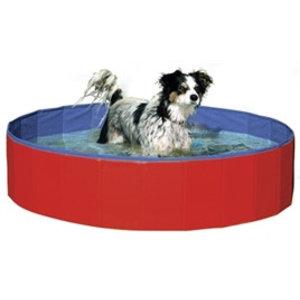 Karlie Doggy Pool Hondenzwembad Rood/Blauw 120 x 20 cm