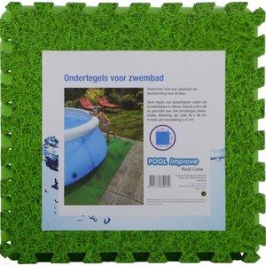 Pool Improve Ondertegels Zwembad - Gras - 8 stuks