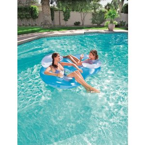 Bestway Lounge Double Ring floater