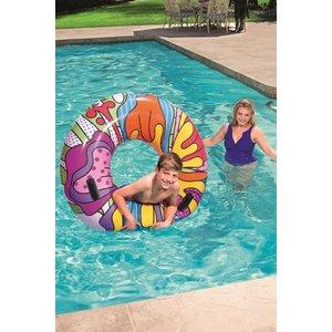 Bestway Zwemring Pop-Art opblaasbaar