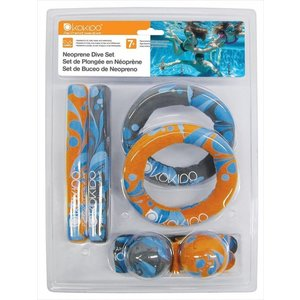 Kokido Neoprene Dive Streamers + Sticks + Rings