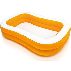 Intex Opblaasbaar zwembad Family Pool Mandarin