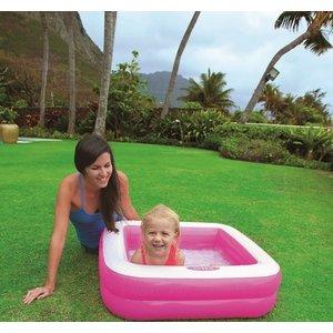 Intex Vierkant opblaasbaar babyzwembad