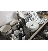 Bastion Collections BC Bowl White/black heart
