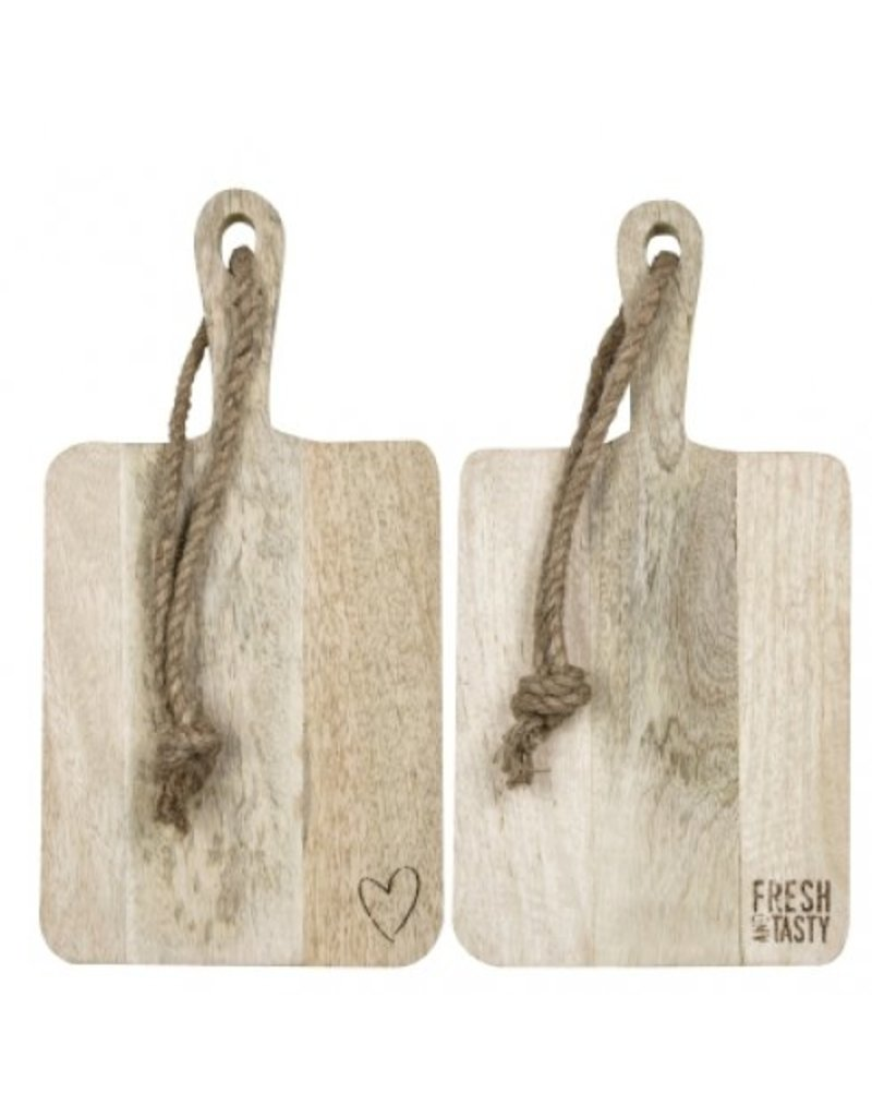 Bastion Collections BC Tray wood Fresh and tasty