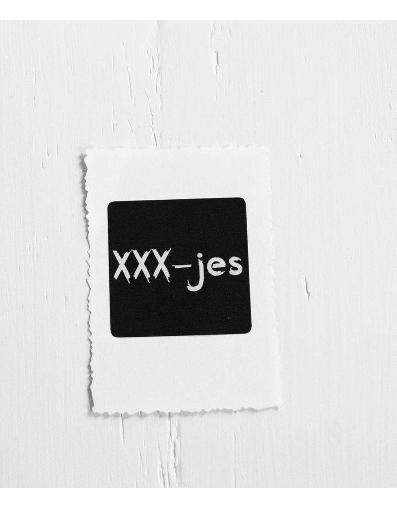 Sticker xxx-jes