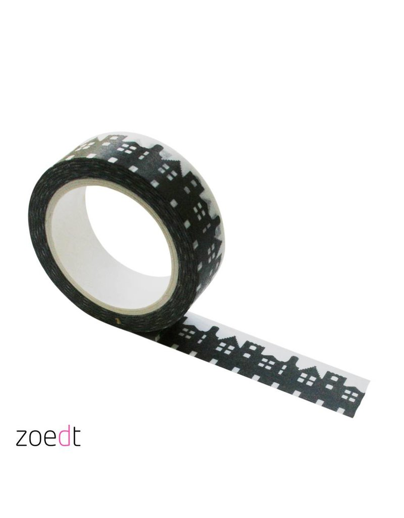 Zoedt Masking tape huisjes