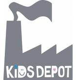 KIDSDEPOT Original Metalen Bak Silver