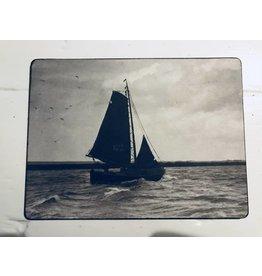 Nostalgisch plaatje zeilboot