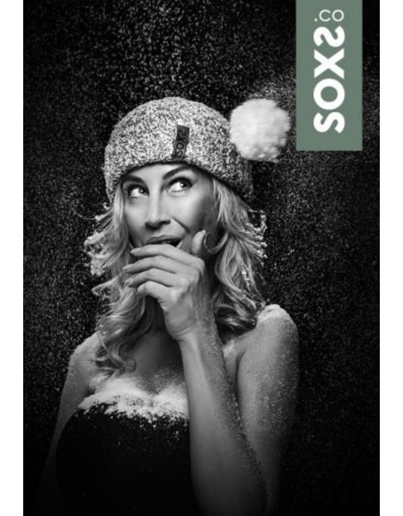 SOXS Soxs dames beanie army green label