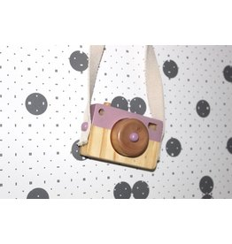 Little Dutch Houten Speel Camera roze