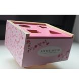 Little Dutch Little Dutch Houten vormenstoof - Pink Blossom