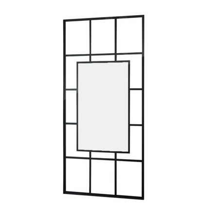 """Best Design BD """"Black-Invisible"""" Inloopdouche Walk-In 1000x2000x10mm"""