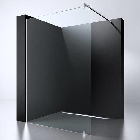 "Best Design BD ""ERICO-600"" Inloopdouche 57-59 cm NANO 8mm glas"