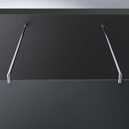 "Best Design BD ""ERICO"" vrijstaande wand 120x200cm NANO glas 8mm"