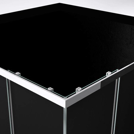 """Best Design BD """"Project"""" Douche Hoekinstap 80x80x190cm glas 5mm"""