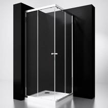 "BD ""Project"" Douche Hoekinstap 90x90x190cm glas 5mm"