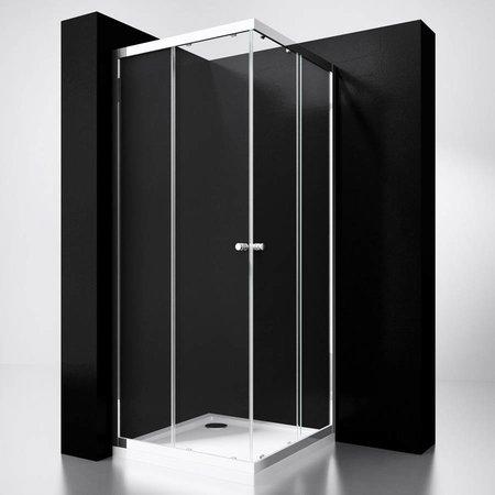 """Best Design BD """"Project"""" Douche Hoekinstap 100x100x190cm glas 5mm"""