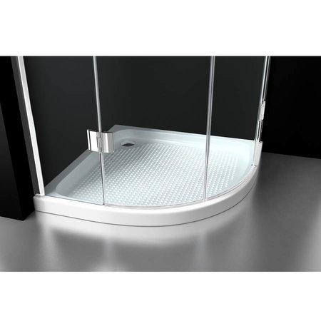 """Best Design BD """"ERICO"""" 1/4 rond cabine m.2 deuren 90x90x192cm NANO glas 8mm"""