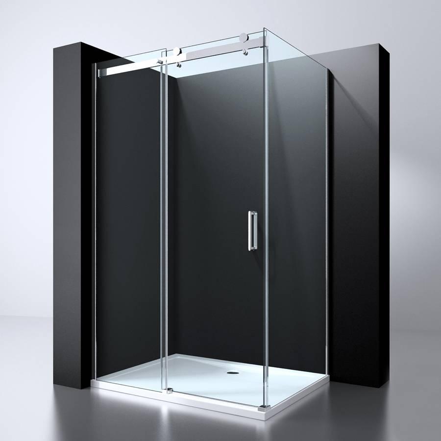 Schuifdeur In Wand.Bd Erico Schuifdeur Wand 90x117 118 5x200cm Nano Glas 8mm