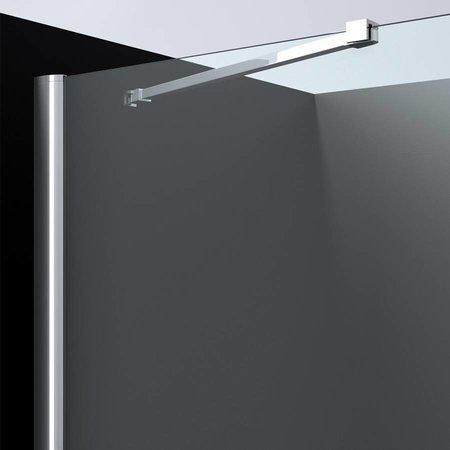 """Best Design BD """"ERICO"""" vierkante cabine met 1 swing deur 90x90x200cm NANO glas 6mm"""