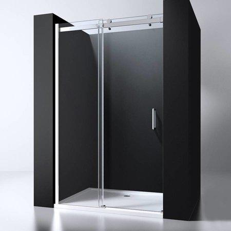 "Best Design BD ""ERICO"" nisdeur schuif 108-110cm H=200cm NANO glas 8mm"