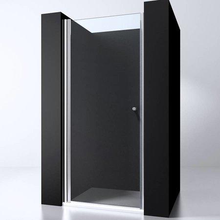 "Best Design BD ""ERICO"" nisdeur met profiel 77-81cm H=200cm NANO glas 6mm"