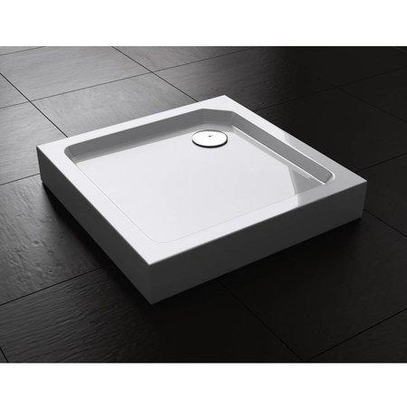"""Best Design BD """"Project"""" Opbouwdouchebak vierkant 80x80x14 cm"""