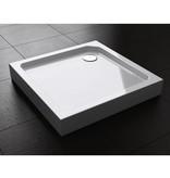 """Best Design BD """"Project """" Opbouwdouchebak vierkant 90x90x14 cm"""