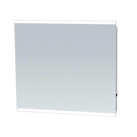 Samano Spiegel Twinlight | 80x70 cm | rechthoek | aluminium | met LED verlichting