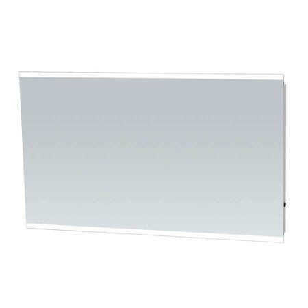 Samano Spiegel Twinlight | 120x70 cm | rechthoek | aluminium | met LED verlichting