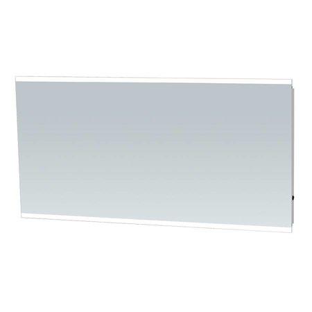 Samano Spiegel Twinlight | 140x70 cm | rechthoek | aluminium | met LED verlichting