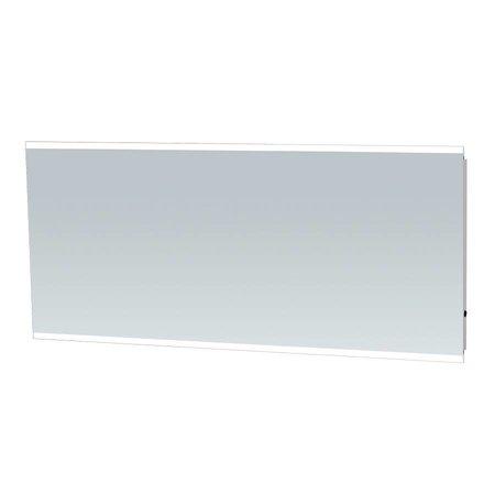 Samano Spiegel Twinlight | 160x70 cm | rechthoek | aluminium | met LED verlichting