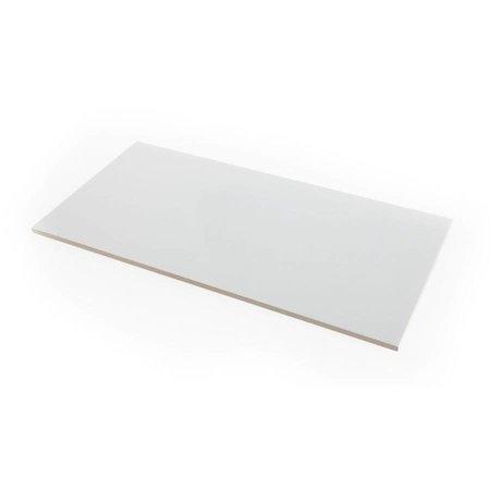 Kerasom Wandtegel 60 x 30cm p/M2 - Glans Wit - On-Gerectificeerd
