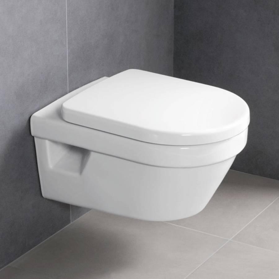 Toilet Villeroy En Boch.Villeroy Boch Omnia Architectura Combipack Directflush Met Softclose En Quickrelease Closetzitting Wit