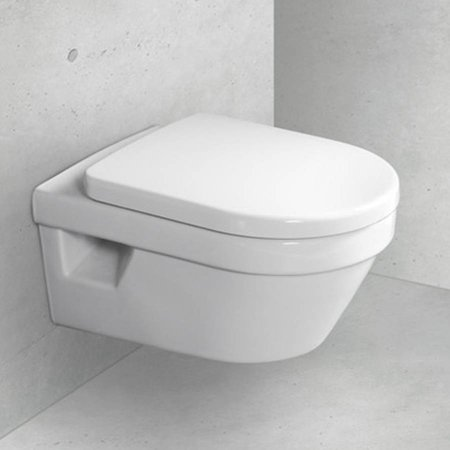 Villeroy & Boch Villeroy & Boch Omnia Architectura combipack, directflush met softclose en quickrelease closetzitting wit