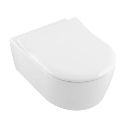 Villeroy & Boch Villeroy & Boch Avento combi-pack; diepspoelcloset DirectFlush wand en Slimseat met softclose wit