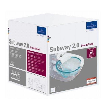 Villeroy & Boch Villeroy & Boch Subway 2.0 wandcloset Wit