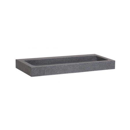 Samano Wastafelblad Grey Stone 100 | 1 krgt