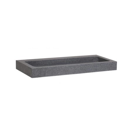 Samano Wastafelblad Grey Stone 100 | 2 krgt