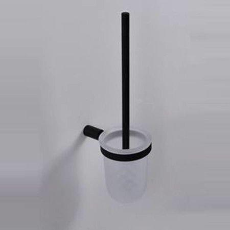 Samano Ida toiletborstelhouder zwart