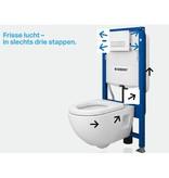 Geberit Duofix WC-element Duofresh Inbouwreservoir