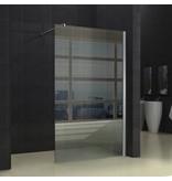 Samano Wiesbaden inloopdouche + muurprofiel 1300x2000 10mm NANO glas