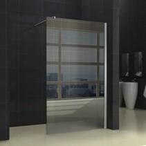 Wiesbaden inloopdouche + muurprofiel 1300x2000 10mm NANO glas