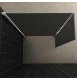 Samano Wiesbaden zijwand+hoekprof. 350x2000 10mm NANO rookglas