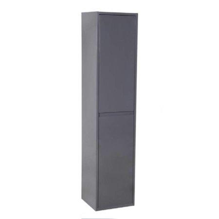 Samano New Future Kast Badkamermeubel | grijs | 160 cm | greeploos | 2 deuren
