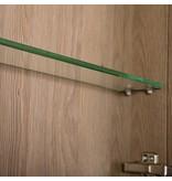 Samano Exclusive/NEXXT Spiegelkast | enkelzijdige spiegel | 60 cm | legno calore | 1 deur | rechtsdraaiend | LED verlichting