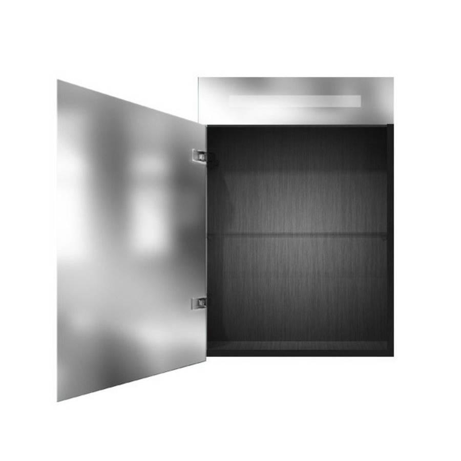 Exclusive Spiegelkast | dubbelzijdige spiegel | 60 cm | zwart | 1 ...